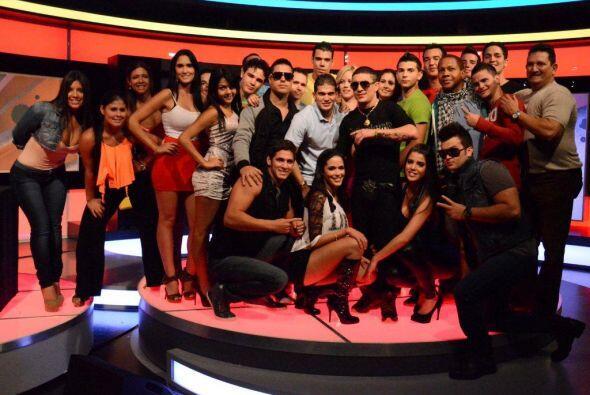 Sin duda las el reggaeton de Osmani puso a bailar a todo el público.