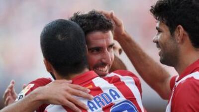 Raúl García, sin se un jugador de marcadas condiciones ofensivas, logró...