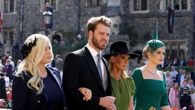 """Ellos son los nuevos """"solteros  de oro"""": los sobrinos de Lady Diana llaman la atención en la boda de Harry  y Meghan"""
