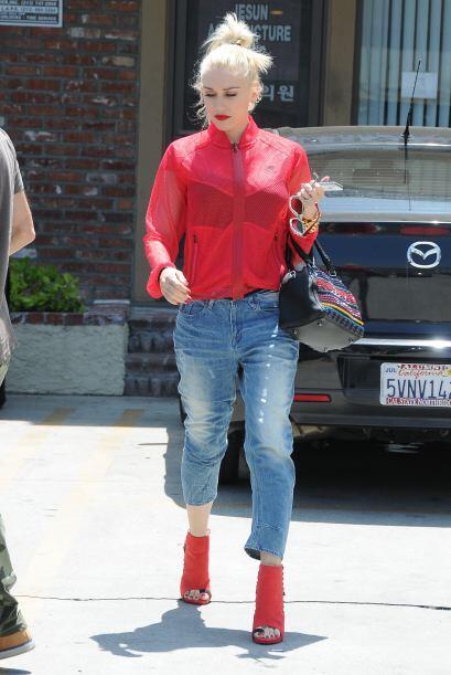 Gwen Stefani fue una de las famosas que pasó la prueba de fuego....