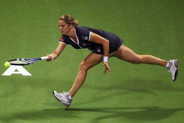 La belga Kim Clijsters volvía esta semana a la competición tras la opera...