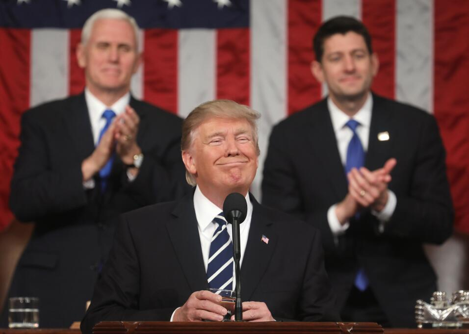 Los gestos del presidente.