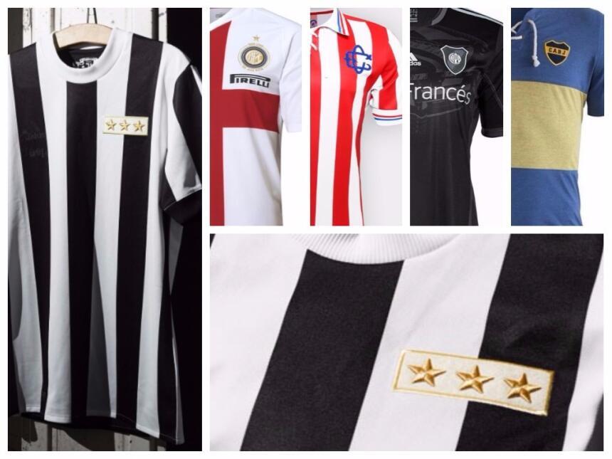 La nueva de la Juventus y otras hermosas playeras conmemorativas del fút...