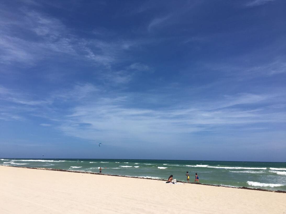 FOTOS: Miami Beach se convierte en una ciudad desierta por el huracán Ir...