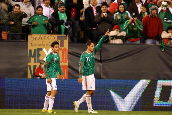 Un año después, en el 2010, México le repetir&iacut...