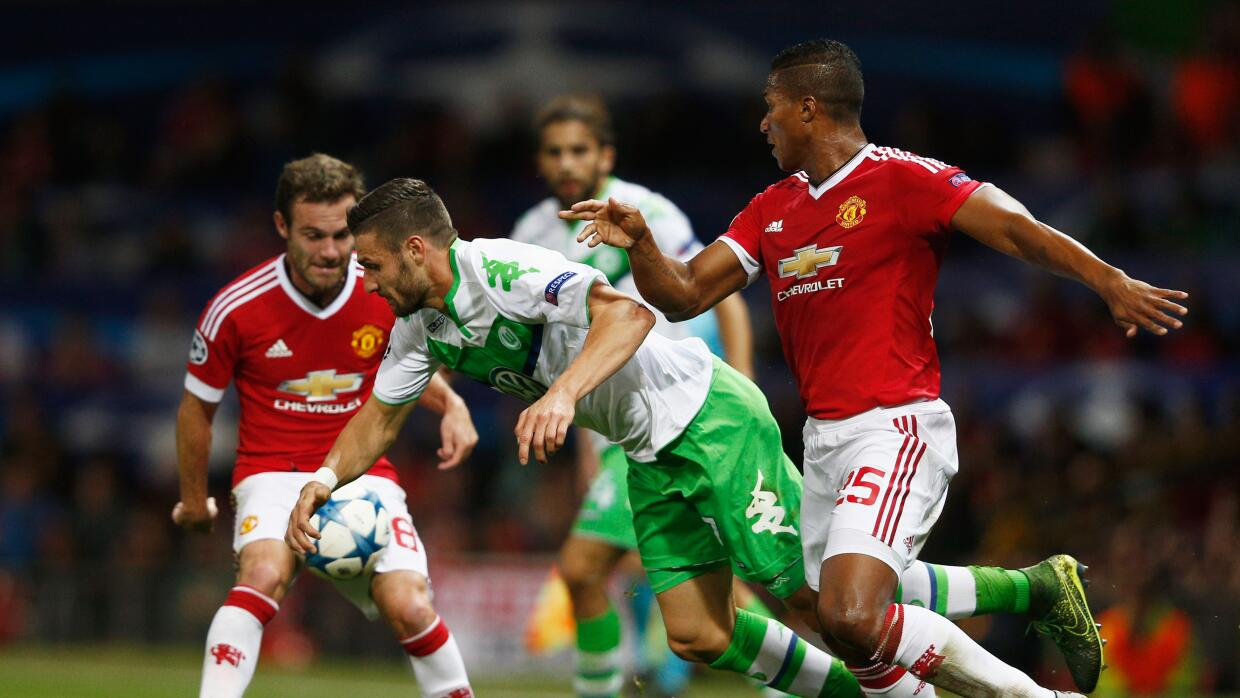 Wolfsburg recibe al United