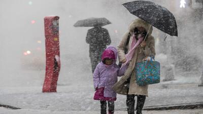 Más de 45 millones de personas afectadas por la tercera tormenta invernal en EEUU en 11 días
