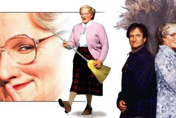 """Un año después en 1993 se estrenó la popular comedia """"Mrs. Doubtfire"""", e..."""