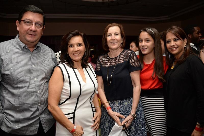Maity Interiano encuentro Líderes de Honduras