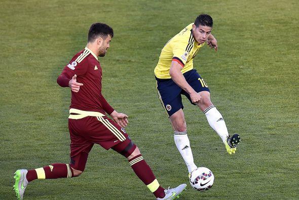 Desde el primer minuto la selección de Venezuela hizo que Colombia se vi...