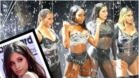Echan del escenario a Camila Cabello en los MTV VMA 2017