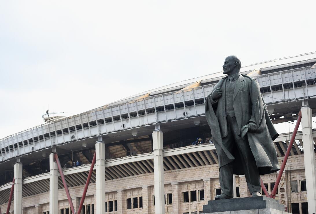 Luzhnikí, sede de Rusia 2018, un histórico escenario vigilado por Lenin...