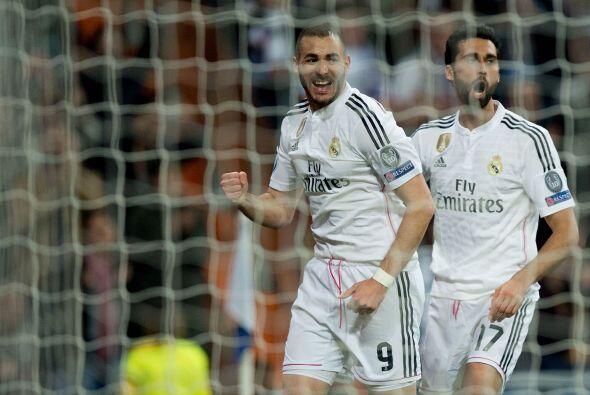 En el complemento Benzema pondría al frente al Madrid por primera vez en...