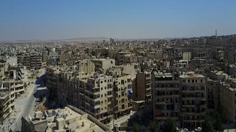 Alepo, cuando una ciudad se convierte en una completa ruina