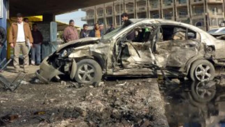 Ataques con coches bomba en diversos puntos de Bagdad y un atentado suic...