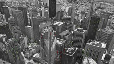Satélite revela las zonas de San Francisco que se hunden y que se elevan