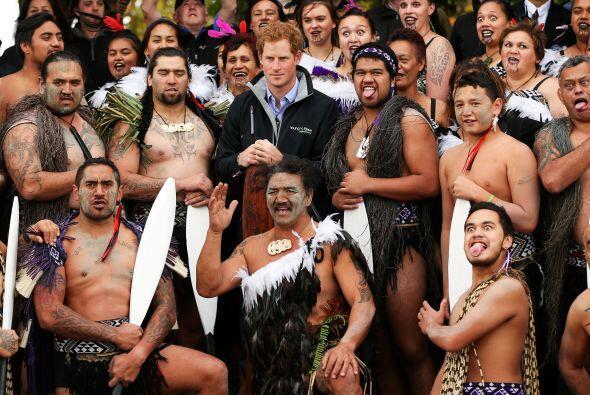 En su discurso el príncipe Harry habló en la lengua de los Maori. Tal ve...