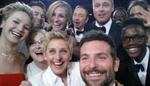El selfie más famoso de las redes sociales.