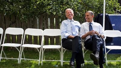 Barack Obama y Joe Biden: lecciones de amistad en la Casa Blanca