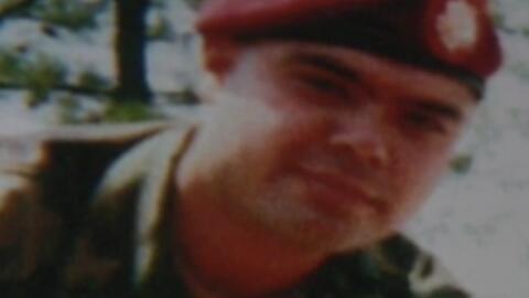 Miguel Pérez Junior, veterano de afganistán en peligro de...