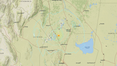 Terremoto en Argentina