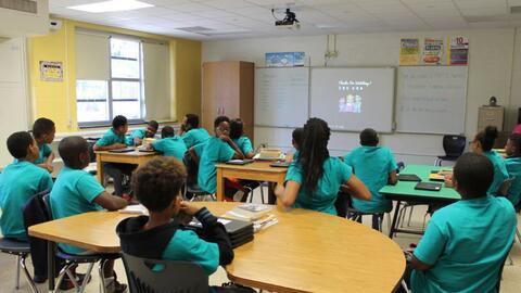 Bajo el antiguo alcalde Michael Bloomberg, las clases de verano eran par...