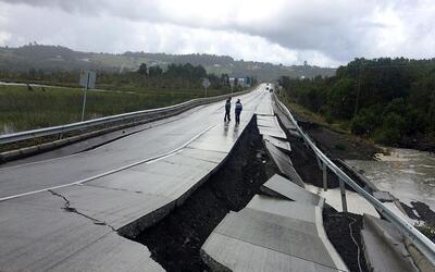 Sismo de magnitud 7.6 sacude el sur de Chile