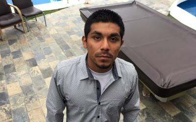 Iván Velázquez, uno de los jóvenes hispanos que se...