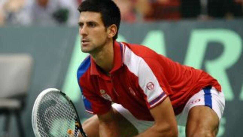 Novak Djokovic no podrá jugar junto a los mejores del tenis mundial.