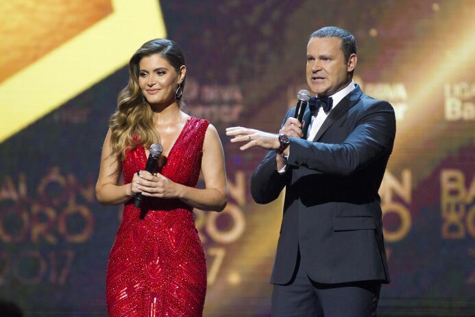 Ellos son los ganadores del Balón de Oro Chiquinquira Delgado y Alan Tac...