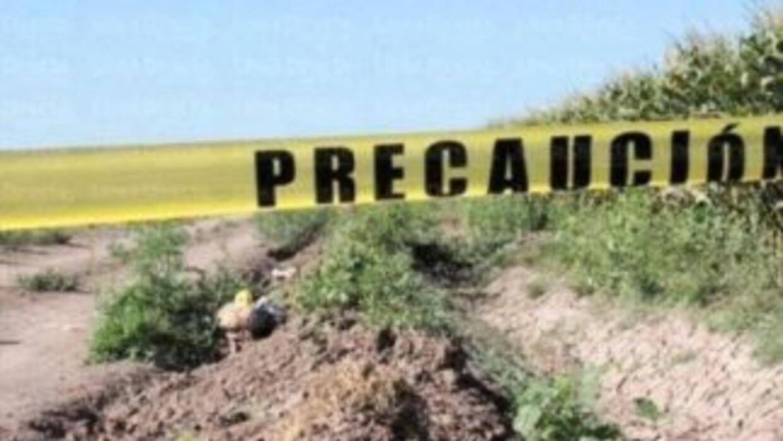 Los cuerpos fueron localizados en Chilapa, Guerrero. Foto tomada de Twit...