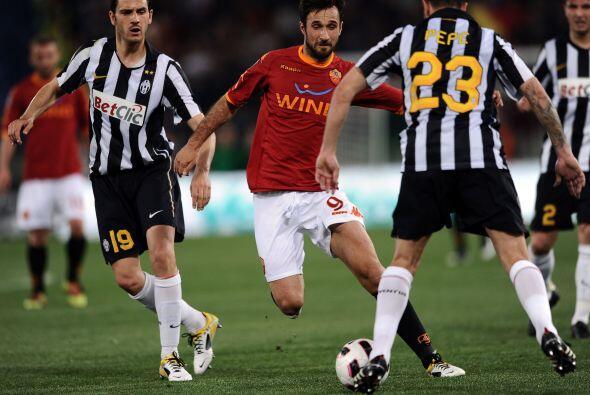 La Roma fue contenida en todo el encuentro, a pesar de jugar en su casa.