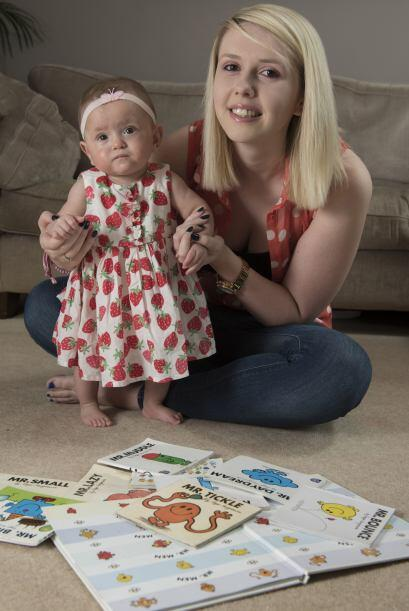 La pequeña estuvo 14 semanas desarrollándose en una incubadora.