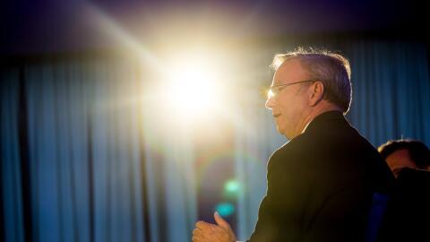 Eric Schmidt, presidente de la matriz de Google y asesor de la Casa Blanca.