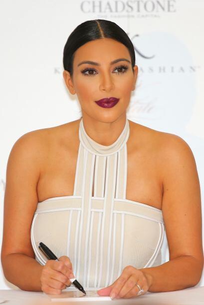 Kim asegura que tras convertirse en mamá su figura está mejor que nunca.