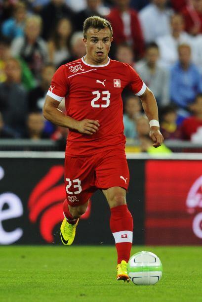 Xherdan Shaqiri: Peligroso volante suizo, de ascendencia albanesa que ju...