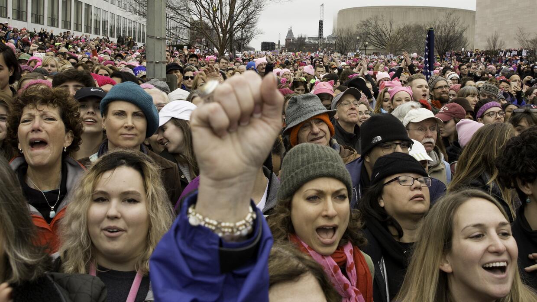 Los cálculos indican que más de tres millones de personas se manifestaro...