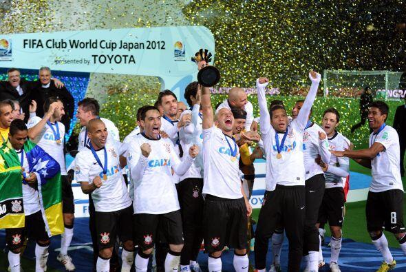 Corinthians, campeón del Mundial de Clubes 2012, tras superar 1 - 0 al C...