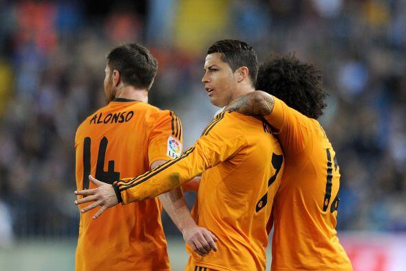Finalmente, el portugués Cristiano Ronaldo no podía faltar en este cuadr...