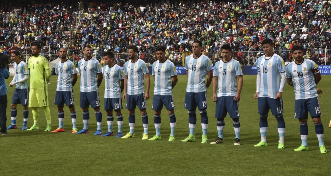 ¡Gozo boliviano! La selección andina le ganó a Argentina en La Paz Getty...
