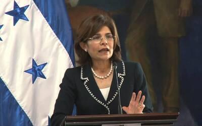 La ex ministra de Estrategia y Comunicaciones de Honduras, Hilda Hern&aa...