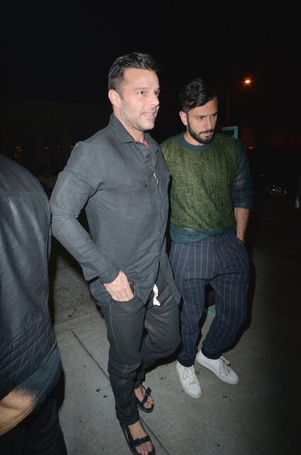 En fotos: El romántico paseo de Ricky Martin con su novio Jwan Yosef  ME...