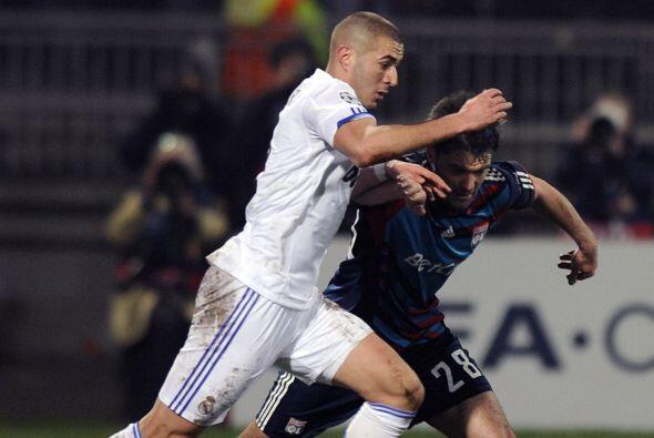 El delantero francés tardó unos pocos segundos en anotar su gol que fue...