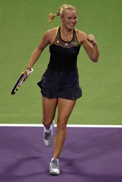 Caroline Wozniacki: la danesa de 20 años de edad, irrumpió en la escena...