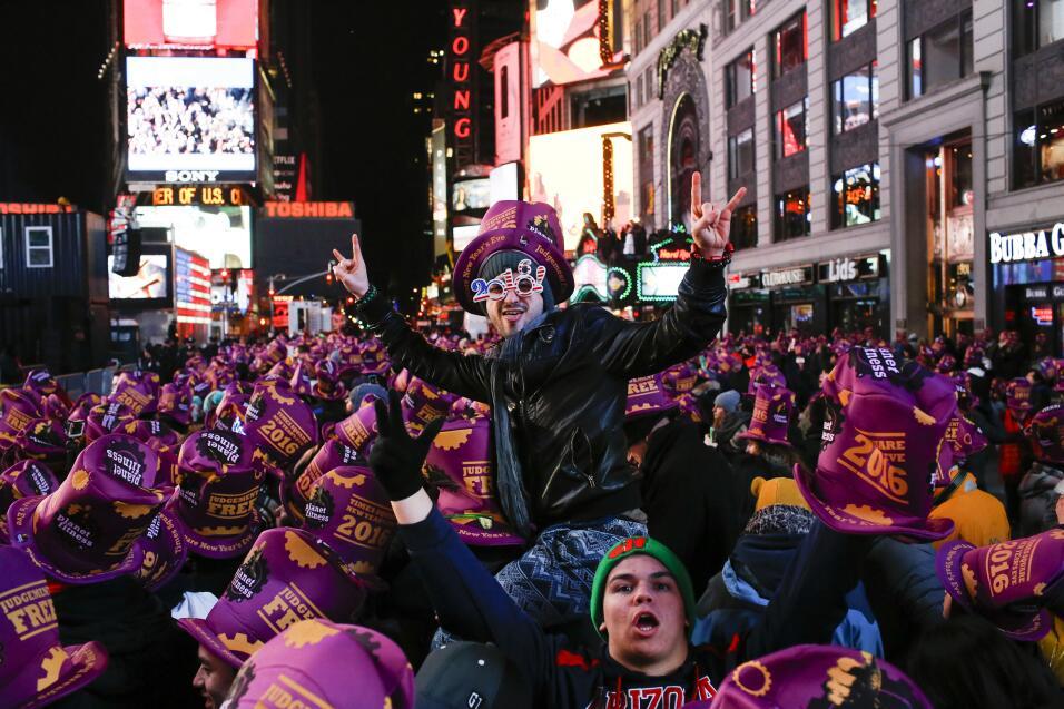 Año Nuevo alrededor del mundo
