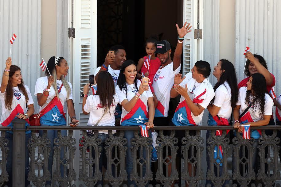 """""""Qué rico es ser puertorriqueño"""", dijo el mandatario en un mensaje en el..."""