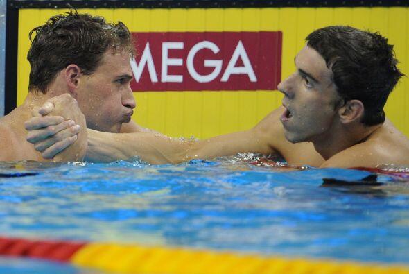 La rivalidad entre ambos nadadores estadounidenses ha marcado al Mundial...