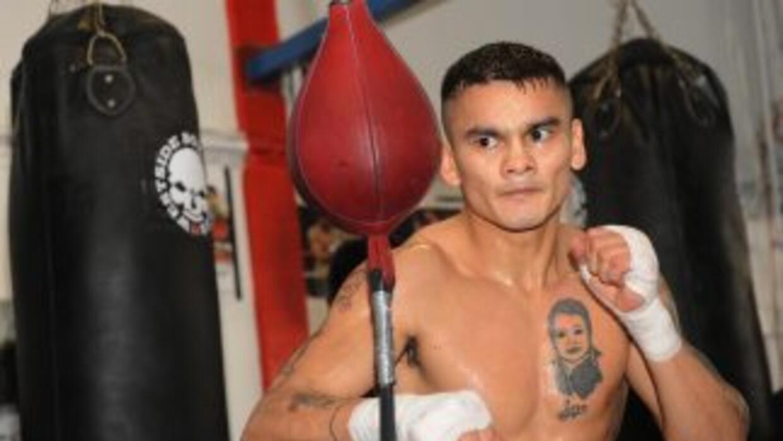 Marcos 'Chino' Maidana viajó a México para entrenar con 'Nacho' Beristai...