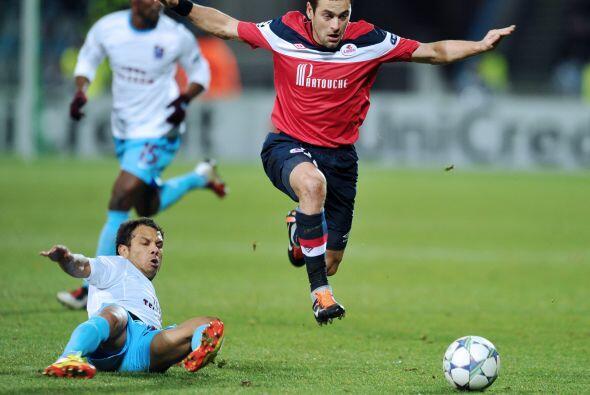En el mismo sector del Inter el Lille y el Trabzonspor se vieron las caras.