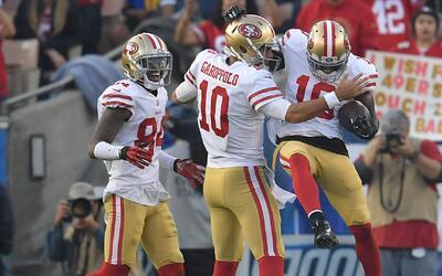 San Francisco terminó con marca de 6-10, tras estar 1-10.